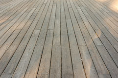 Old wood deck Royalty Free Stock Images