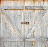 Old wood door Royalty Free Stock Photos