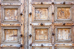 Free Old Wood Door Stock Images - 53338344