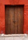 Old Wood Door Stock Images