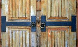 Old wood door Stock Photography