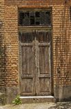 Old wood door Stock Photography