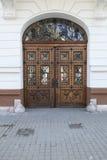 Old Wood Door Royalty Free Stock Photo