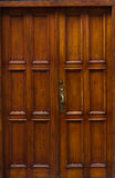 Old wood door details of architecture Royalty Free Stock Photos