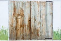 OLD WOOD DOOR IMAGE Stock Photos