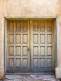 Old wood doors Stock Photo