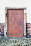 Old wood doors Stock Images