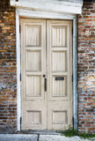 Old Wood Doors Royalty Free Stock Photography