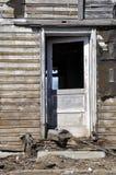 Old wood farmhouse Stock Photo
