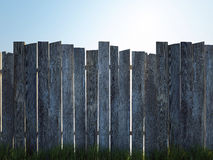 Old Wood Fence Stock Photos