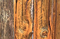 Old wood fence background. Old brown wood fence texture background Stock Images
