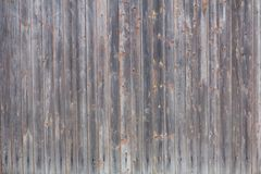 Old wood fence background. The old wood grunge fence background vertical Royalty Free Stock Photography