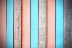 Old wood fence background. Pastel color wood fence background Royalty Free Stock Image
