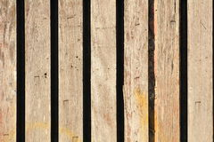 Old wood fence Stock Image