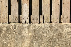 Old wood fence. Close up old wood fence Royalty Free Stock Photography