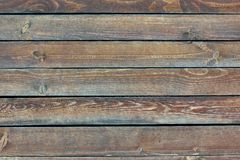Old Wood Flat Plank Panel Royalty Free Stock Photos
