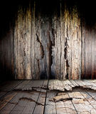 Old wood floor Stock Images