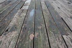 Old wood floor background Stock Image