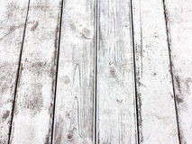 Old wood floor, perspective Stock Photography