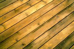 Old wood floor texture. Old yellow wood floor texture background Stock Photo
