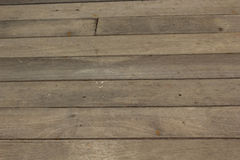 Old wood floor Stock Image