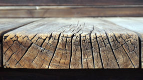 Old wood floor texture Growth and anual rings Stock Photography