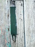Old wood floor. On water Stock Photo