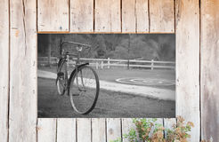 Old wood fram Royalty Free Stock Photography