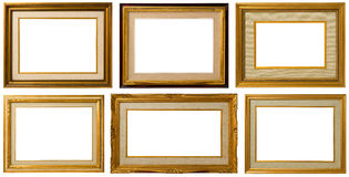 Old  wood frame. Stock Image