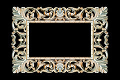 Old wood frame Royalty Free Stock Photo