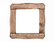 Old wood frame Stock Photography