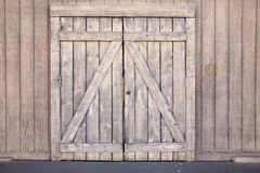 Old wood gate Stock Photography