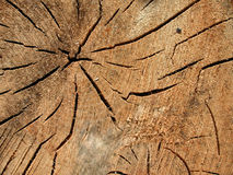 Old Wood Grain Cracks Texture Royalty Free Stock Photos