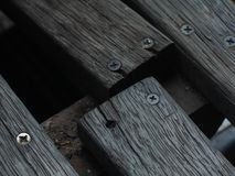 Old wood Grain wood Defective wood Royalty Free Stock Photography