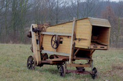 Old wood harvester Royalty Free Stock Image