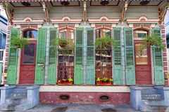 Old Wood house in the French Quarter Royalty Free Stock Photo