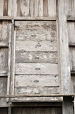 Old Wood House Ruins Shutter Royalty Free Stock Photo
