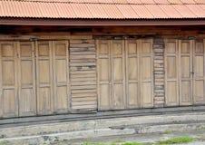 Old wood house thai Royalty Free Stock Photos