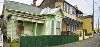 Old wood houses in Bluff Royalty Free Stock Images