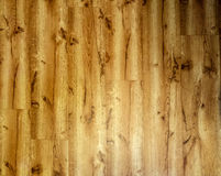 Old wood linoleum texture Stock Images