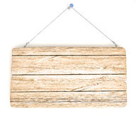 Old wood notice board Stock Photography