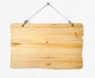 Old wood notice board Royalty Free Stock Images