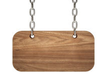 Old wood notice board Royalty Free Stock Image