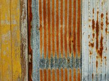 Old wood and old steel texture. Old   wood and old steel texture wall Stock Images