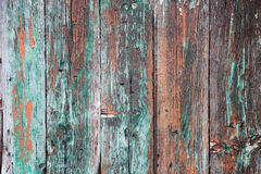 Old wood painted background Stock Photography