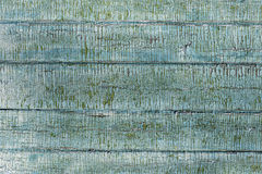 Old wood painted blue fence texture Stock Image