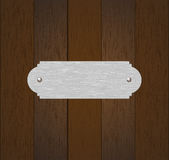 Old wood panel. On the wooden wall grunge Royalty Free Stock Photography