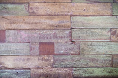 Old wood panel abtract background Royalty Free Stock Photography