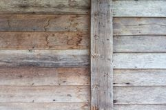 Old wood panel Stock Photography