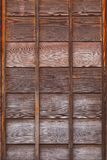 Old wood panel used for Background Stock Images
